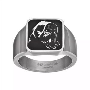 Star Wars The Force Awakens Men's Kylo Ren Ring